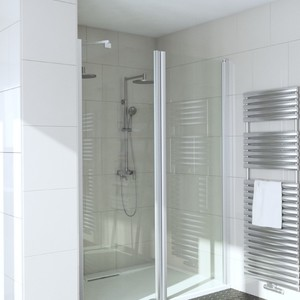 Shower corner with door INFINIA 211x212