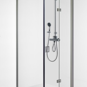 Shower corner with folding door FENIC 311X313