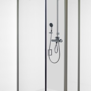 Shower corner with half sized door FENIC 311X314