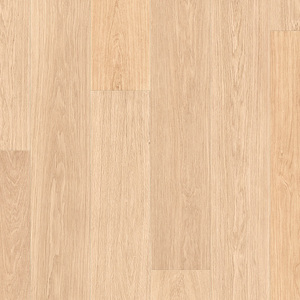 Laminate Quick-Step LARGO WHITE VARNISHED OAK, PLANKS 1-strip