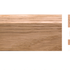 Solid skirting oak 16x55mm profile 7