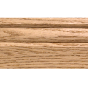 Solid skirting oak 18x100mm profile 10