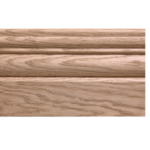 Solid skirting oak 20x110mm profile 21