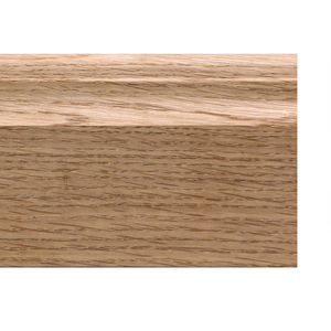 Solid skirting oak 16x70mm profile 22