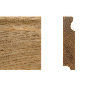 Solid skirting oak 16x85mm profile 4
