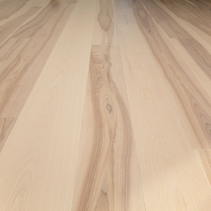Floorboard 2-layer Ash Natur beveled, white oiled