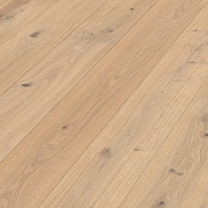 Parquet Pure rustic oak, brushed, 1-strip, naturally oiled