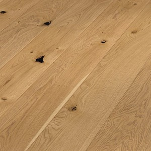 Parquet rustic oak, brushed, 1-strip, naturally oiled