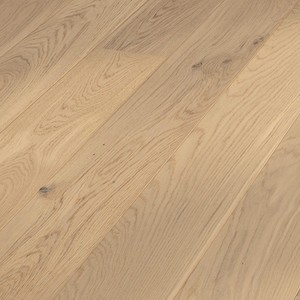 Parquet Lyed-look rustic oak, brushed, 1-strip, matt lacquered