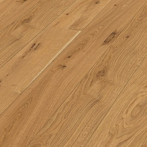 Parquet rustic oak, brushed, 1-strip, matt lacquered