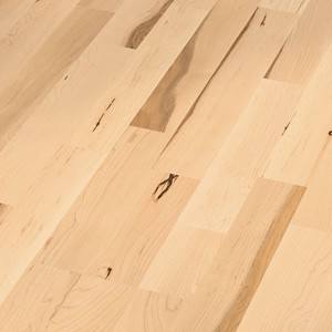 Parquet Canadian maple lively, 3-strip, naturally oiled