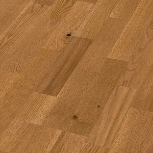 Parquet Golden brown oak lively, 3-strip, brushed, naturally oiled