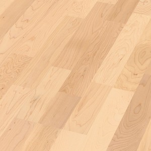 Parquet Canadian maple harmonious, 3-strip, lacquered