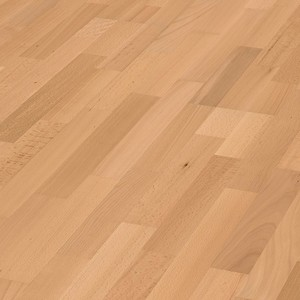 Parquet Steamed beech harmonious, 3-strip, lacquered