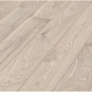 Floorboards Oak Rustic 2-layer, bevelled, white oiled