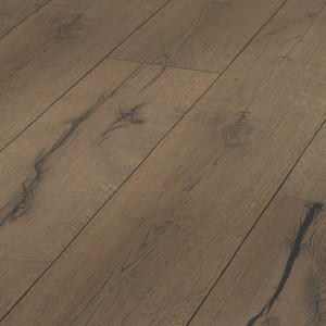 Parquet Meister Lindura Clay grey rustic oak 320mm, brushed, 1-strip, naturally oiled