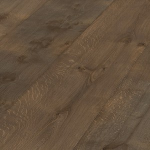 Parquet Meister Lindura Olive grey rustic oak 320mm, vintage structure, brushed, 1-strip, naturally oiled