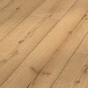 Parquet Meister Lindura Pure rustic oak 320mm, brushed, 1-strip, naturally oiled