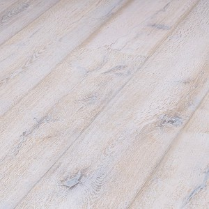 Parquet Meister Lindura White washed rustic oak 320mm, brushed, 1-strip, naturally oiled