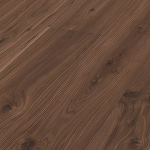 Parquet Meister Lindura American walnut lively, 1-strip, matt lacquered