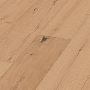 Parquet Meister Lindura Authentic caramel oak, brushed, 1-strip, matt lacquered