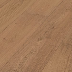 Parquet Meister Lindura Natural honey oak, brushed, 1-strip, matt lacquered