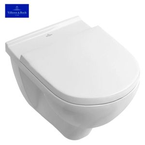 Seinä-WC Villeroy & Boch O.Novo DirectFlush Soft Close-kannella