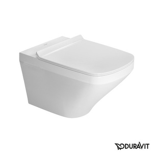 Toilet wall-mounted Duravit DuraStyle Rimless, Durafix, with soft-close seat