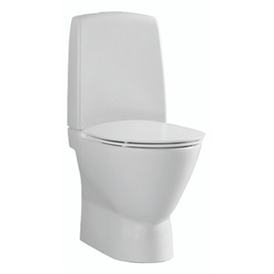 WC-istuin Ifö Inspira Art Rimfree Soft Close-kannella