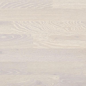 Parquet Tarkett, Heritage, Oak Chalk White, brushed, 3-strip, Proteco Hardwax Oil