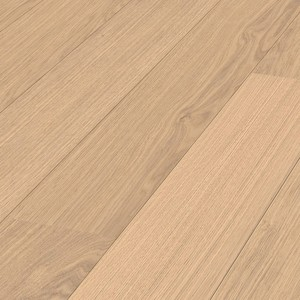 Parquet White oak lively Meister, 1-strip, brushed, naturally oiled 260mm