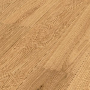 Parquet Meister Oak lively, brushed, 1-strip, matt lacquered
