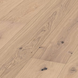 Parquet Meister Pure oak lively, brushed, 1-strip, matt lacquered