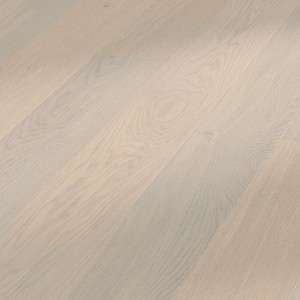 Parquet Meister Cream grey oak ambience, brushed, 1-strip, naturally oiled