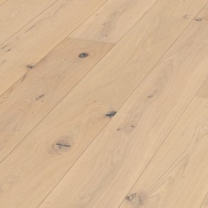 Parquet Meister Pure vital oak, brushed, 1-strip, naturally oiled