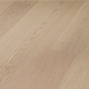 Parquet Meister White oak harmonious, brushed, 1-strip, naturally oiled