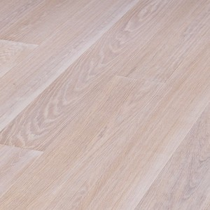 Parquet Meister White washed oak harmonious, brushed, 1-strip, naturally oiled