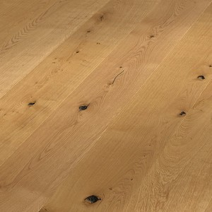 Parquet Meister Authentic oak, brushed, 1-strip, naturally oiled PD400