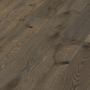 Parquet Meister Authentic olive grey oak, brushed, 1-strip, naturally oiled PD400