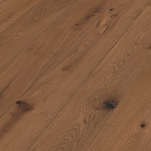 Parquet Light brown smoked oak mountain Meister, brushed, 1-strip, naturally oiled