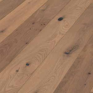Parquet Pure smoked oak mountain light Meister, brushed, 1-strip, naturally oiled PD400