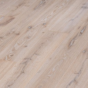 Parquet White washed oak canyon Meister, brushed, 1-strip, naturally oiled PD400