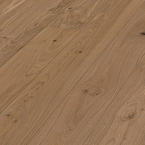 Parquet Meister Mocha oak lively, 1-strip, brushed, matt lacquered PD400