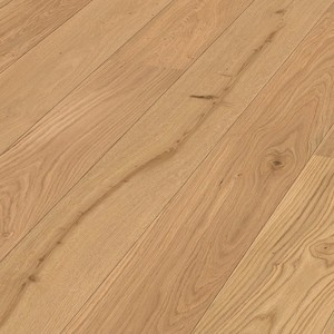 Parquet Meister oak lively, 1-strip, brushed, matt lacquered PD400