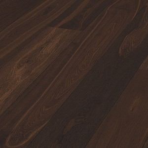 Parquet Meister Smoked oak lively, 1-strip, brushed, matt lacquered PD400