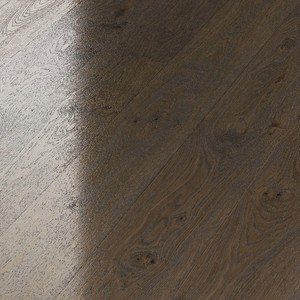 Parquet Meister Olive grey oak lively, 1-strip, brushed, high-gloss lacquered PD400