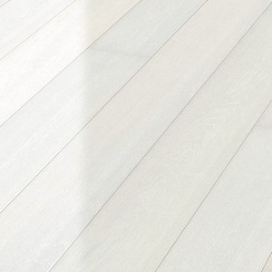 Parquet Meister Polar white oak harmonious, 1-strip, brushed, high-gloss lacquered PD400