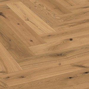 Parquet Meister Vital oak, brushed, 1-strip, naturally oiled PS500 Herringbone