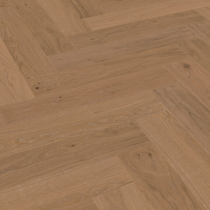 Parquet Meister Natural mocha oak, brushed, 1-strip, matt lacquered PS500 Herringbone