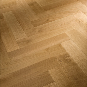 Parquet Meister Oak harmonious, 1-strip, lacquered PS400 Herringbone